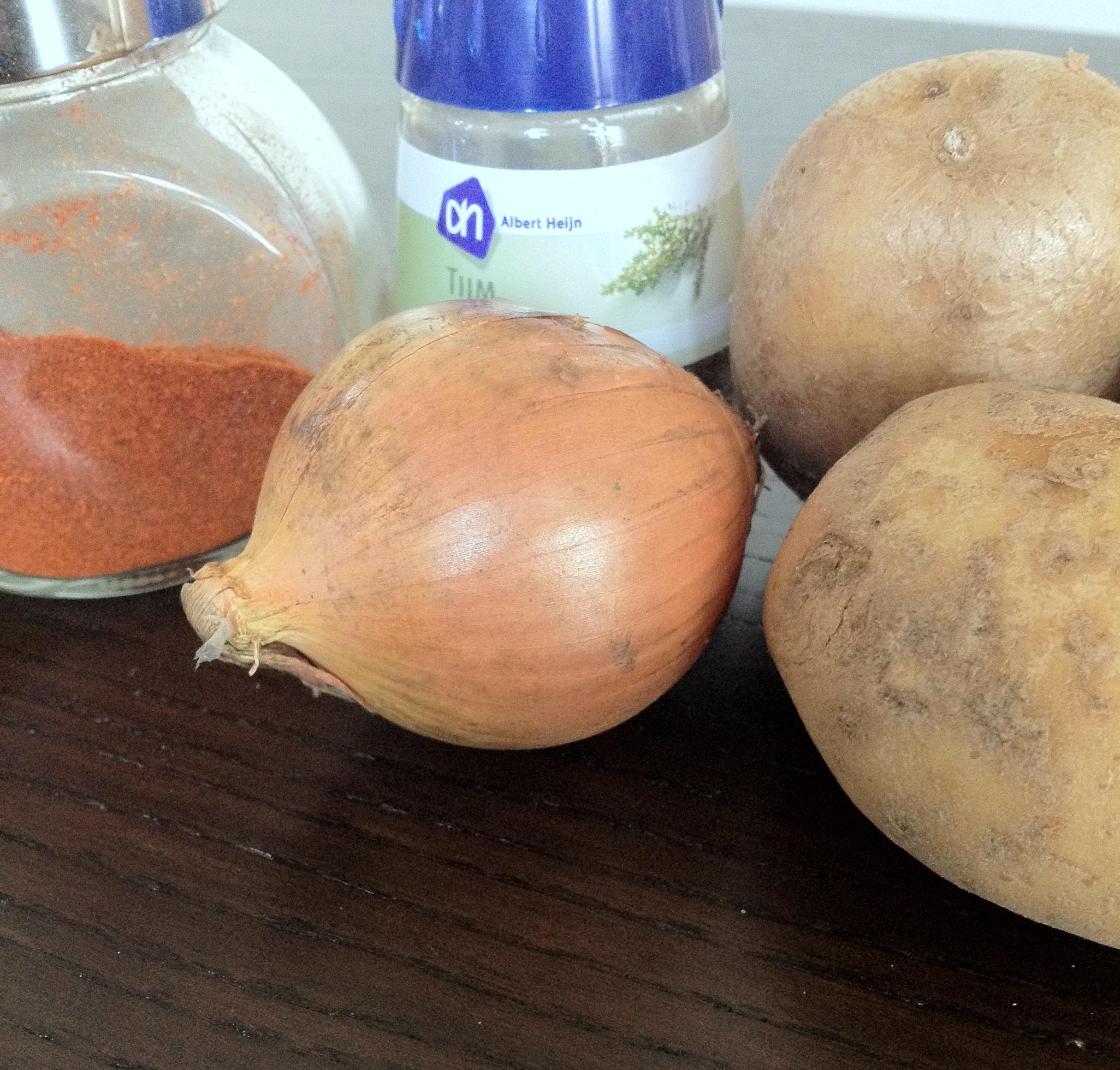 Gebakken aardappeltjes