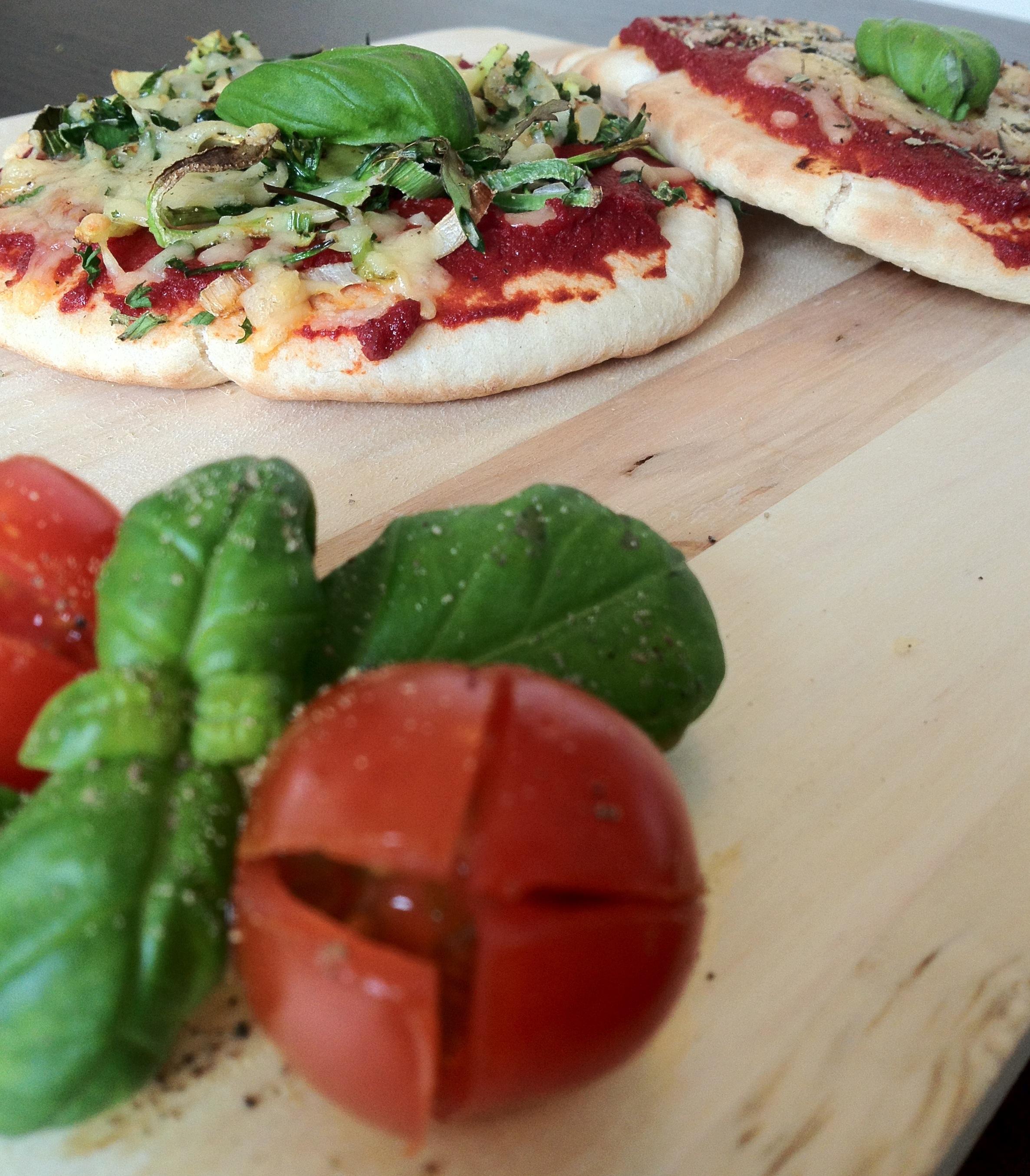 Heerlijke mini pizza's